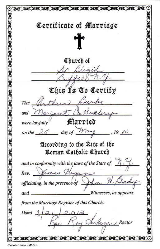 Apply For Marriage Certificate Online